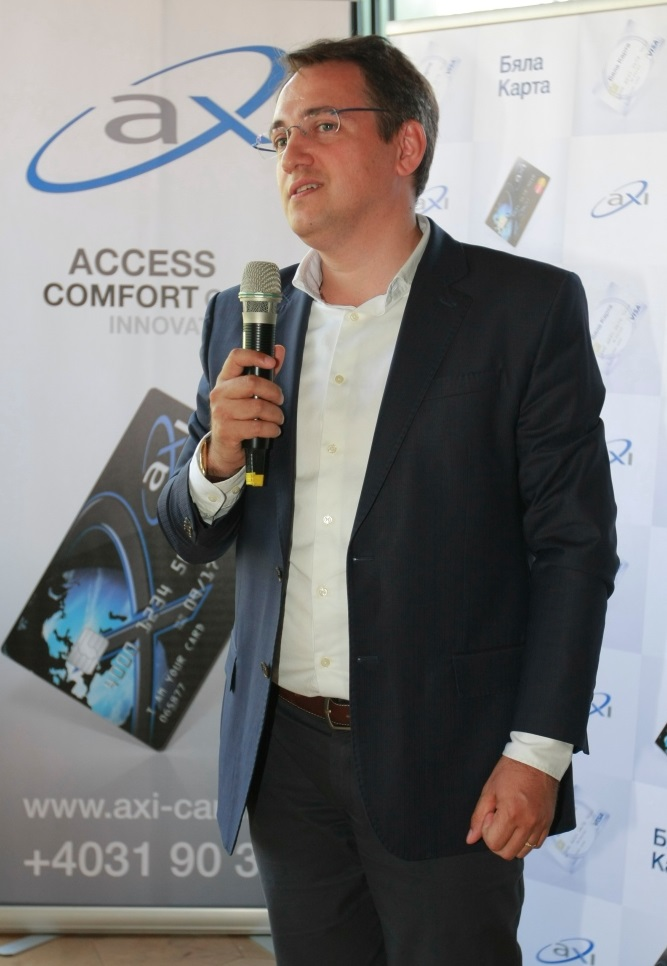 Laur Emilian, CEO AXI Finance în România