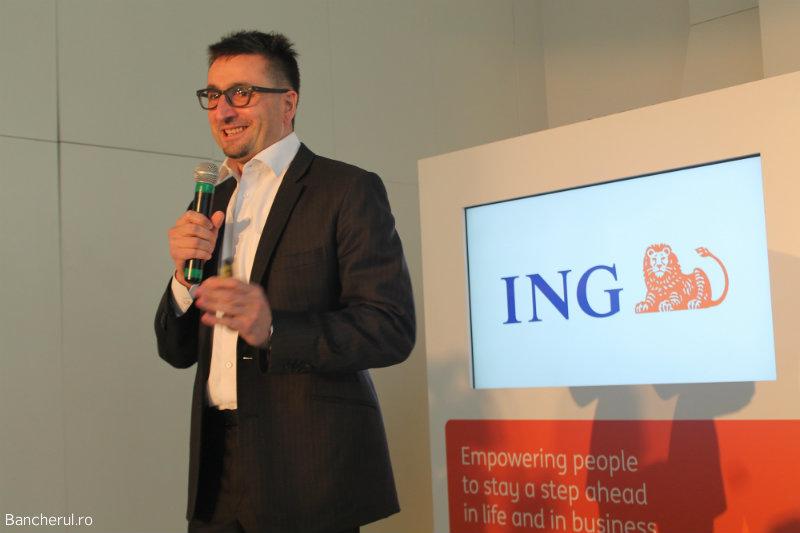 Michal Szczurek, CEO ING România